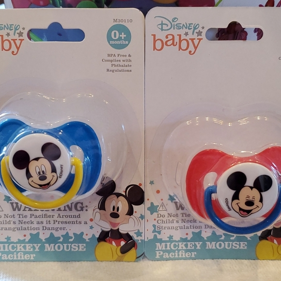 Disney Mickey Mouse Pacifiers